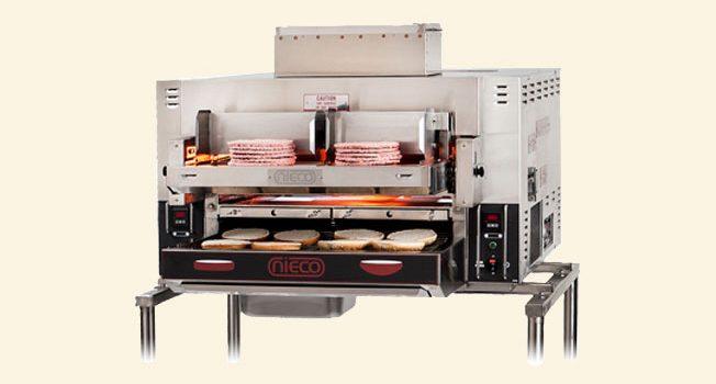دستگاه پخت برگر اتوماتیک
