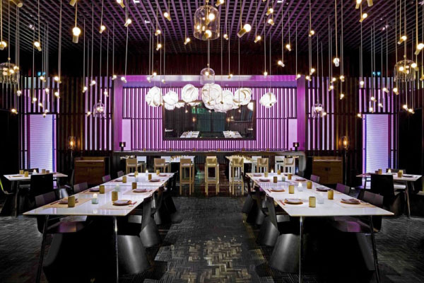 طراحی دکوراسیون رستوران | رستوران آسیایی بِی-چین