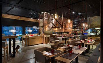 مدیریت فضا در طراحی داخلی رستوران